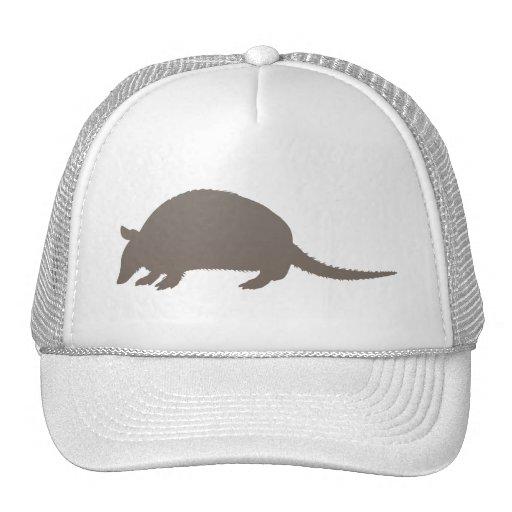 Gray Armadillo Trucker Hats