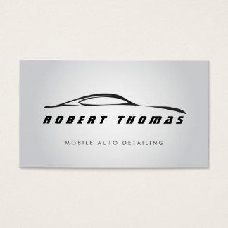 GRAY AUTO DETAILING, AUTO REPAIR BUSINESS CARD