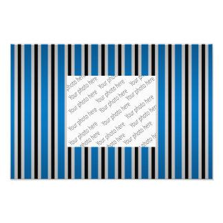 Gray black blue stripes photo