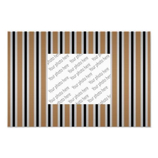 Gray black brown stripes photograph