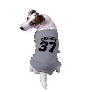 Gray & Black Pets   Dog Sports Jersey Design Sleeveless Dog Shirt