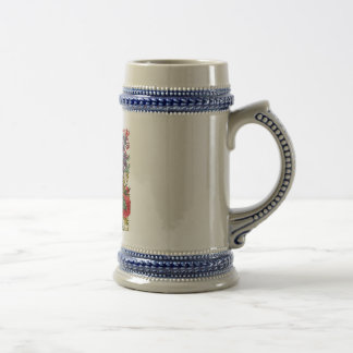 Gray blue 22oz stein