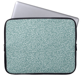 Gray Blue Speckled Laptop Sleeve