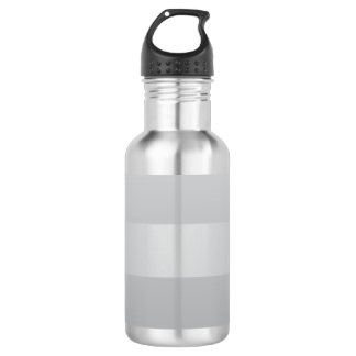 Gray Blue Stripes 532 Ml Water Bottle