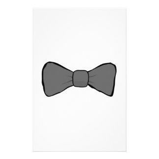Gray Bow Tie Stationery