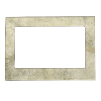 Gray Brown Marble Look Magnetic Picture Frame