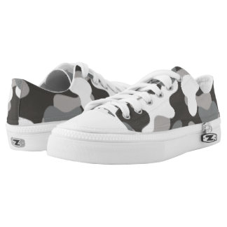 Gray Camouflage. Camo your Low Tops