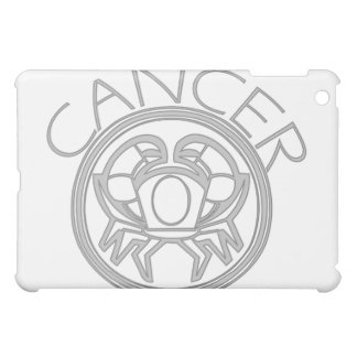 Gray Cancer the Crab Horoscope Sign  iPad Mini Covers
