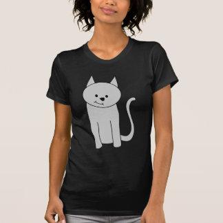 Gray Cat Cartoon. Tee Shirt
