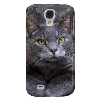 Gray Cat Samsung Galaxy S4 Case