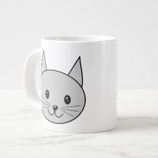 Gray Cat. Jumbo Mug