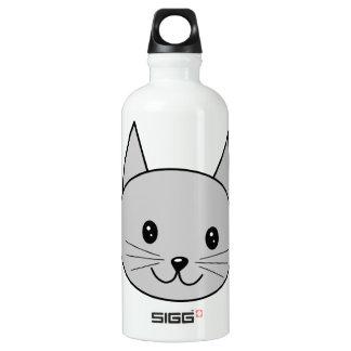 Gray Cat. SIGG Traveller 0.6L Water Bottle