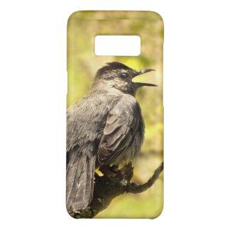Gray Catbird Singing His Song Galaxy S8 Case