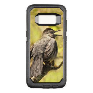 Gray Catbird Sings a Song OtterBox Galaxy S8 Case