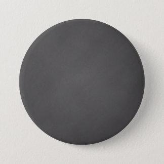Gray Chalkboard Background Black Chalk Board 7.5 Cm Round Badge