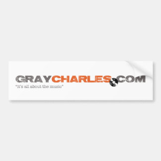 Gray Charles -  Bumper Sticker