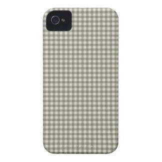 Gray Checkerboard Pattern Blackberry Case