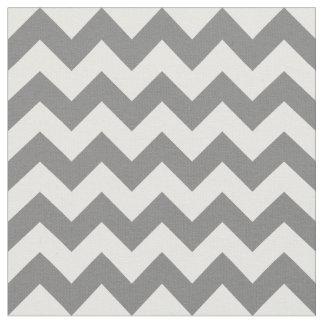 Gray Chevron Fabric, Nursery Fabric