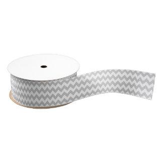 Gray Chevron Home Decor Designer Grosgrain Ribbon
