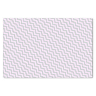 Gray Chevron Pattern on Pale Pink Tissue Paper