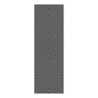 Gray circles design. Modern Pattern. Pack Of Skinny Business Cards