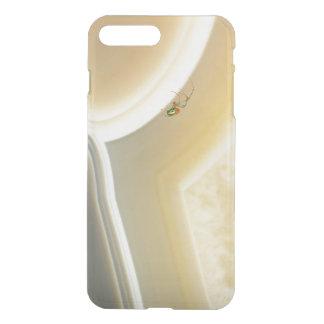 Gray Cream Gemstone Crystal Patterns Spider iPhone 7 Plus Case