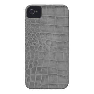 Gray crocodile Case-Mate iPhone 4 cases