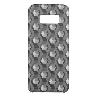 Gray Cube Pattern Isometric Case-Mate Samsung Galaxy S8 Case