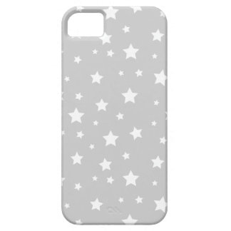 Gray Cute Stars iPhone 5 Case