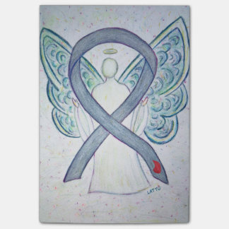 Gray Diabetes Awareness Angel Post It Notes Post-it® Notes