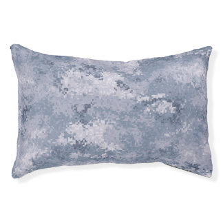 Gray Digi Camo Pet Bed