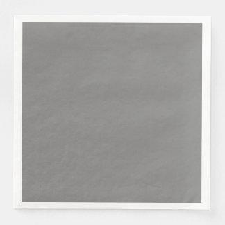 Gray Disposable Serviette