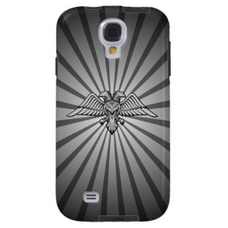 Gray eagle with two heads galaxy s4 case