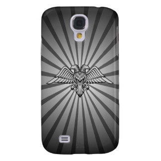 Gray eagle with two heads samsung galaxy s4 case