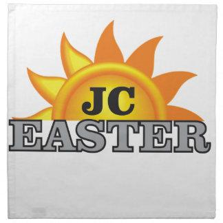gray Easter sun Napkin