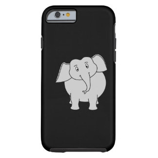 Gray Elephant. Tough iPhone 6 Case