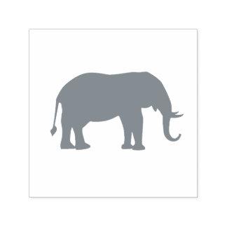 Gray Elephant Tusks Self-inking Stamp