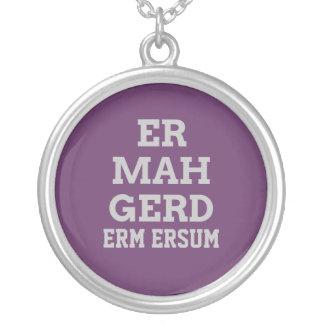 Gray Ermahgerd Necklace