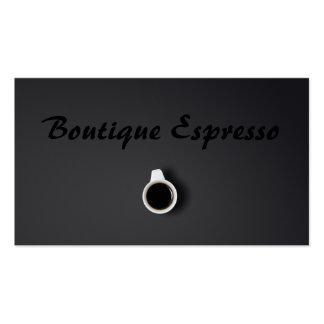 Gray Espresso Bar Coffee Shop - Business Card