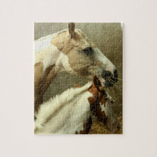 Gray Eventing Horse Puzzle