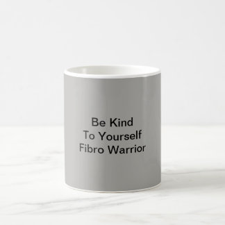 Gray Fibro Warrior Coffee Mug