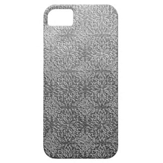 Gray flower pattern iPhone 5 cover