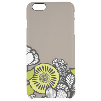 Gray Flowers iPhone 6/6s Deflector Case