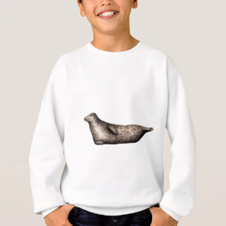Gray Foca of profile Sweatshirt