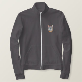 Gray Fox Embroidered Jacket