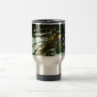 Gray Fox Travel Mug