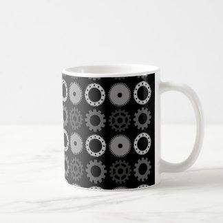 Gray Gears Coffee Mug
