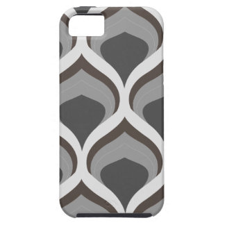 gray geometric drops iPhone 5 cover