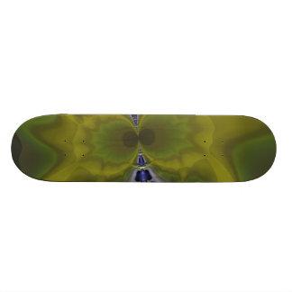 Gray Goblin in Green, Fun Spooky Imp Skate Board