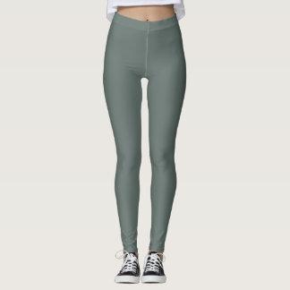 Gray Green Leggings